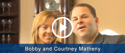 Bobby and Courtney Matheny